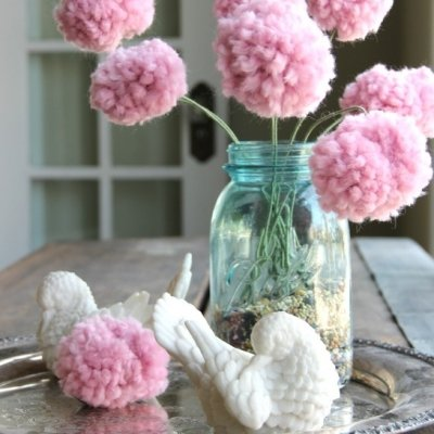 31 Playful Pom Pom Crafts for Kids and Adults ...