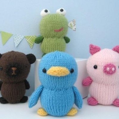 7 Adorable Knitted Animal Toys to Make for Your Child ...