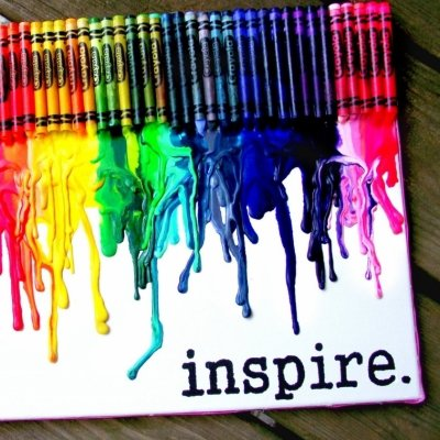 36 Vibrant Examples of Crayon Art ...