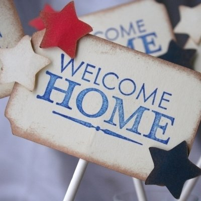 Putting Together a Touching Welcome Home Party ...