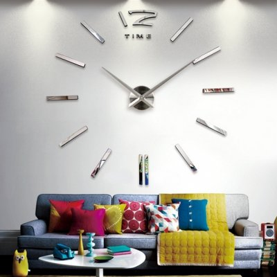 9 Incredibly Fantastic DIY Large Wall Clocks ...
