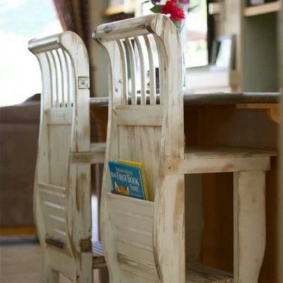 7 Gorgeous DIY Bar Stools ...
