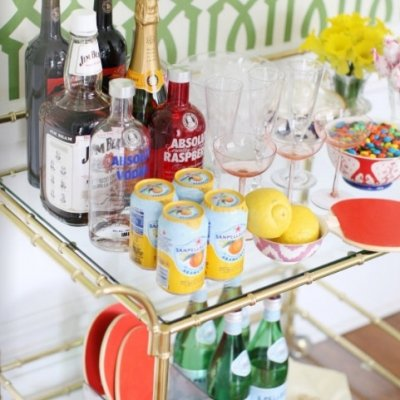 9 Marvelously Clever DIY Mini Bars ...