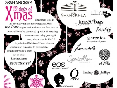 12 Days of Christmas with 365Hangers...