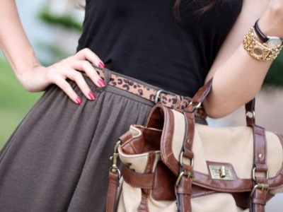 10 Trendy Ways to Wear Belts ...