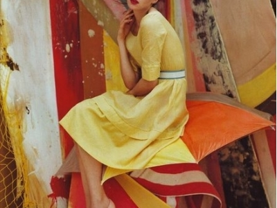 7 Beautiful Vintage-Look Dresses ...