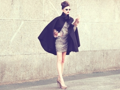 7 Fab Ways to Style a Cape Coat ...