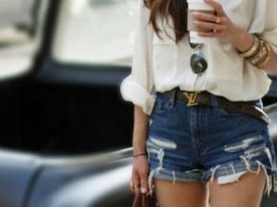 7 Ways to Wear High Waist Denim Shorts like a Diva ...