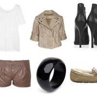 Spring Fashion Trend: Beige Leather