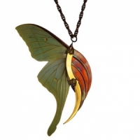 Giveaway Contest Winner: Luna Moth Necklace...