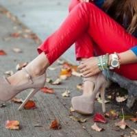 7 Ways to Wear Red Denim ...