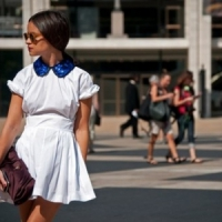 8 Fashionable Collared Dresses ...