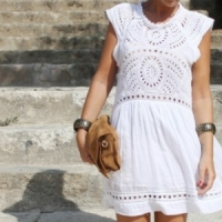 8 Crisp White Dresses for Summer ...