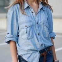 7 Ways to Dress up a Denim Shirt ...