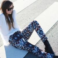 8 Ways to Look Pretty in Printed Pants ...