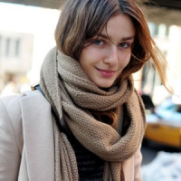 7 Adorable Winter Scarves ...