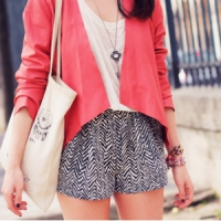 8 Springy Patterned Shorts ...