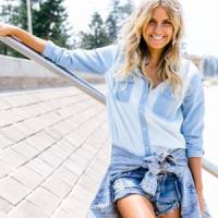 9 Chambray Clothes That Are Perfect for Creating Casually Chic Looks ...