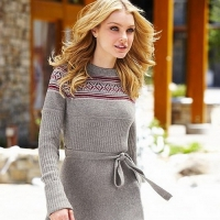 Feeling the Cold? Cozy up in One of These Sweater Dresses ...