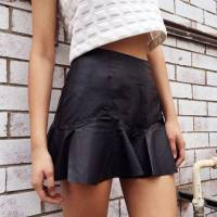 Say Yes to Leather Skirts This Summer!
