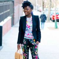 25 Stylish Floral Pants for Spring ...