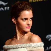 Red Carpet Look of the Day: Emma Watson Stuns in Black & White ...