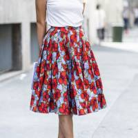 21 Floral Skirts You'd Die to Have ...