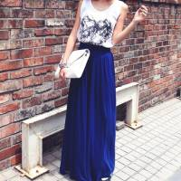 Shake up Your Maxi Skirts - Here's 7 Different Ways to Wear Them ...