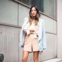 Pastels de l'amour ? Découvrez ces Super doux Pastel Street Style ressemble pour l'Inspiration de l'Outfit...