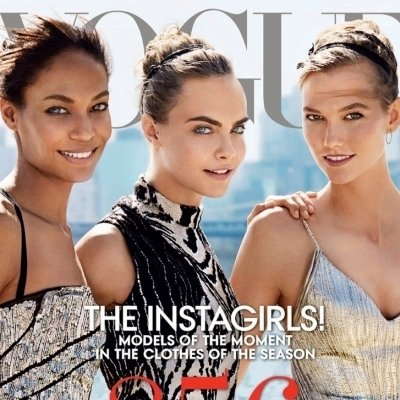 Vogue Stuns with Supermodel September Cover ...