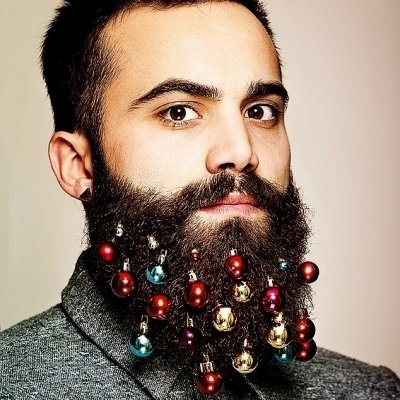Of Beards and Christmas Baubles! ...