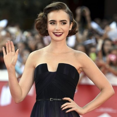 Red Carpet Look of the Day: Lily Collins Stuns at Rome Film Festival ...
