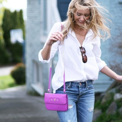 Embrace Summer by Wearing a White Button-down Shirt ...