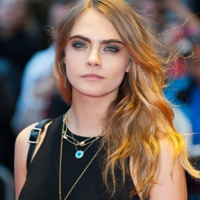Red Carpet Look of the Day: Cara Delevingne Wows with Wedged Sneakers ...