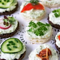 38 Tea Sandwiches That Are Tiny, but Delicious ...