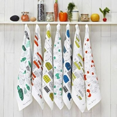 24 Adorable Tea Towels to Make Your Kitchen Stand out ...