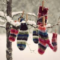 Brrr ... It's Cold Enough to Celebrate Mitten Tree Day ...