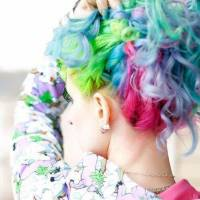 Check out These 25 Gorg Celebs Who've Rocked Rainbow Hair ...