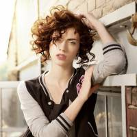 28 Super Chic Curly Hairstyles for Short Hair ...
