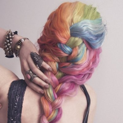 Rainbow Braids That Will Make You Want to Dye Your Hair Today ...