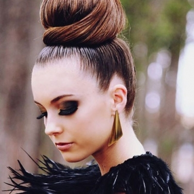 12 Fab & Easy Bun Hairstyles ...
