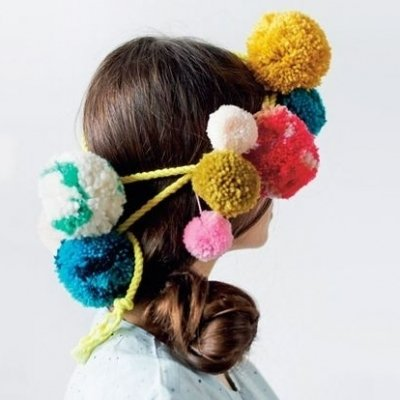 7 Cute Pom Pom Accessories to Brighten up Your Hairdo ...