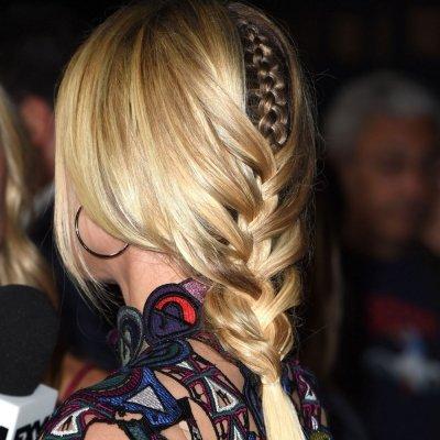 Hair How-to: the Peek-a-boo Braid ...