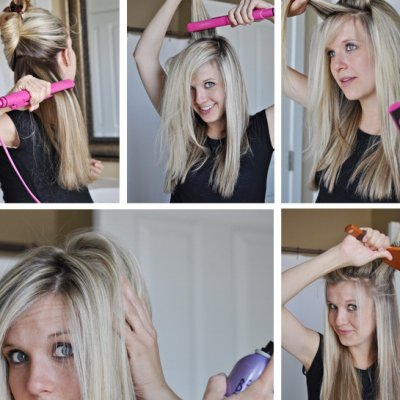 8 Hacks for Super Straight Hair, 2015 Style ...