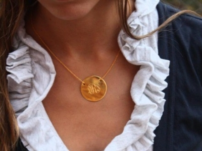 7 Stylish Initial Necklaces ...