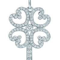 7 Beautiful Tiffany Key Pendants ...