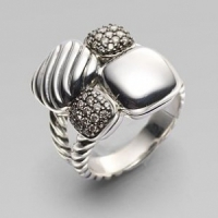 6 Pieces from the David Yurman Chiclet Collection ...