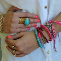 7 Ways to Wear Neon Jewelry ...