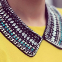 7 Video Tutorials for DIY Collar Necklaces ...