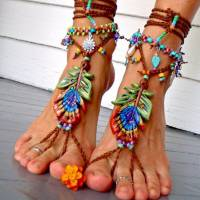 Show Your Toes Some Love! Wear Some of These 24 Bits of Beach Jewelry for Your Feet ...